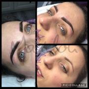 Brewki Beatki, metoda pudrowa💜 #makeupperfect #permanentmakeup #permanentbrows #permanentny #peemanentmakeupartist #permanent #permanenteyebrows #ombrebrows #sosnowiec #katowice #dabrowagornicza