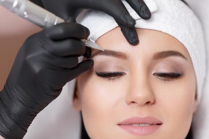 Makijaż Permanentny Brwi Metoda Ombre Marielou Salon Kosmetyczny